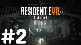 Resident Evil 7 Biohazard # 2 Первая драка с боссом
