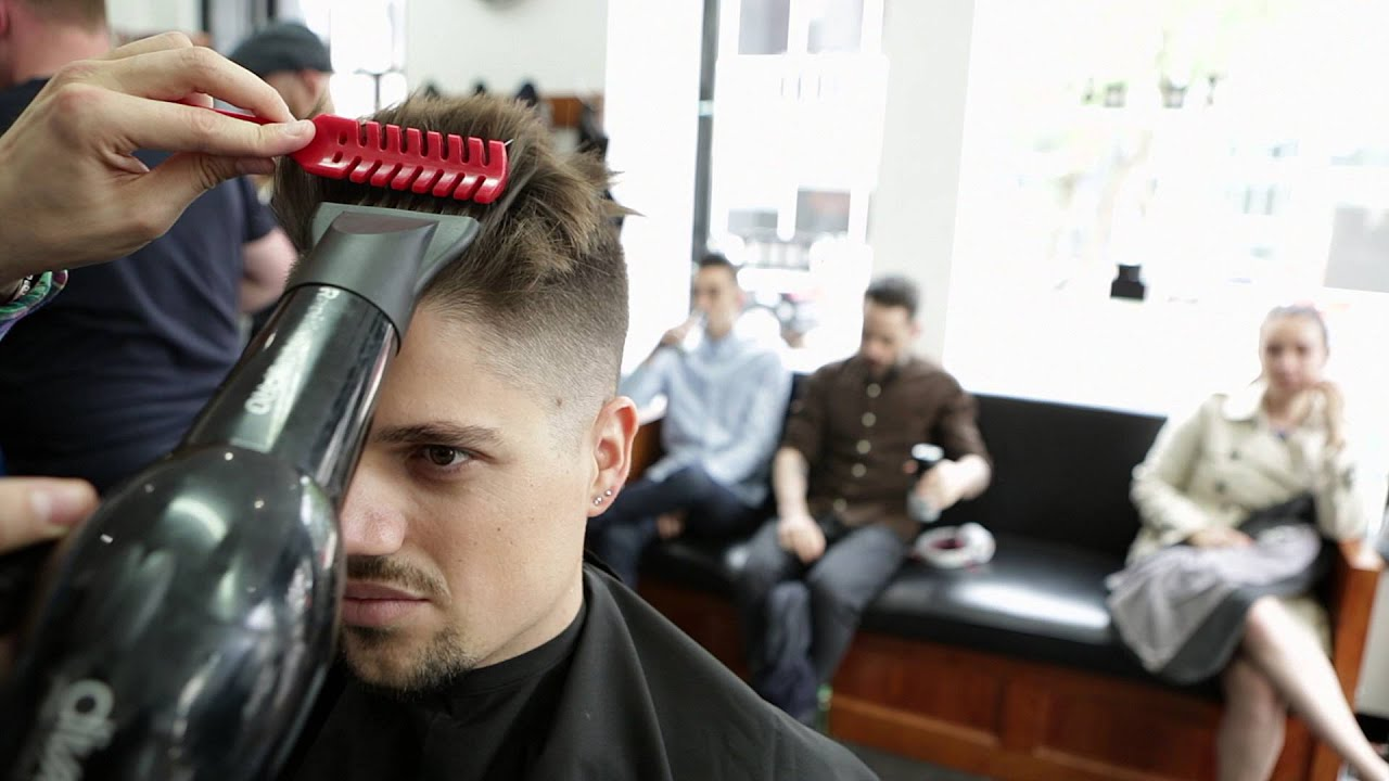 Best Barbers In London Mens Hairstyles Pall Mall Barbers Youtube