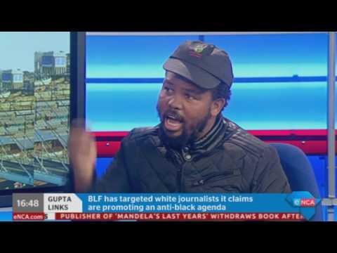BLFs Andile Mngxitama on Gupta Money