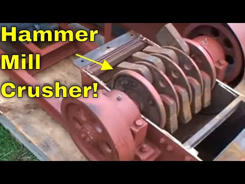 how to build a small rock crusher