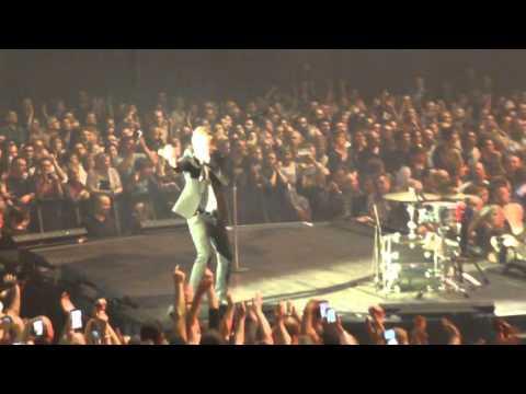 Johnny Hallyday - Lyon - La Halle Tony Garnier - 10/11/15 - Gabrielle
