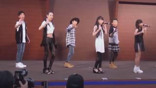 buddy?step (バディーステップ)「アシタノヒカリ (AAA)」2016/07/23 三井アウトレットパーク大阪鶴見