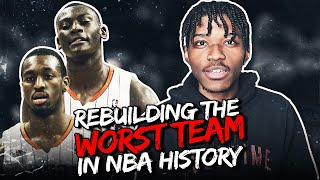 Rebuilding The Worst Team in NBA History in NBA 2K20