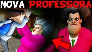 TORTURANDO A NOVA PROFESSORA DO MAU! - Scary Teacher (JOGO DE TERROR)