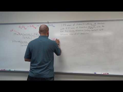 10 - Chemical Reactions and Stoichiometry: Limiting Reagents