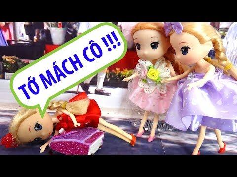 Búp bê Chibi baby doll - Đi học bị bạn bè bắt nạt - B198M Nữ hoàng băng giá
