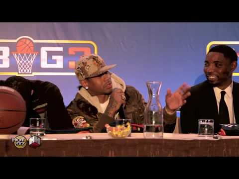 Allen Iverson Wants Shaq & Kobe For His BIG 3 Team W/ Ice Cube