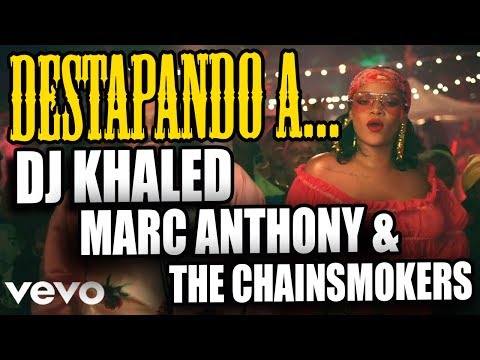 DESTAPANDO A DJ KHALED, MARC ANTHONY Y THE CHAINSMOKERS | sitofonkTV
