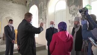 В Барышской епархии восстанавливают уникальный храм Владимирской иконы Божией Матери.