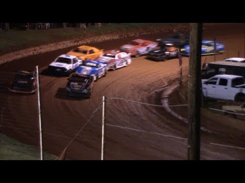 Winder Barrow Speedway Stock 4 Cylinders A's Feature Race 8/17/19
