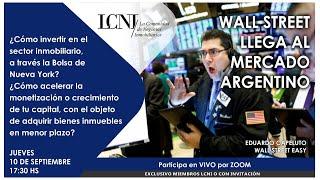 Wall Street llega al mercado Argentino