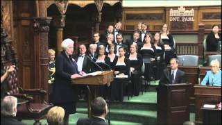 Ontario's new lieutenant-governor sworn in
