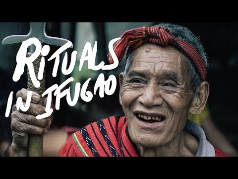 RITUAL IN IFUGAO RICE TERRACES Philippines