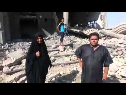 Iraqi Military Conduct Airstrikes in Al-Karmah
