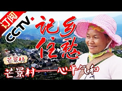 《记住乡愁第二季》 20160213 第四十集 芒景村——心平气和