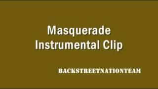 Backstreet Boys - Masquerade - Instrumental (Clip)