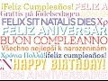 Happy Birthday  Multi-Language Version