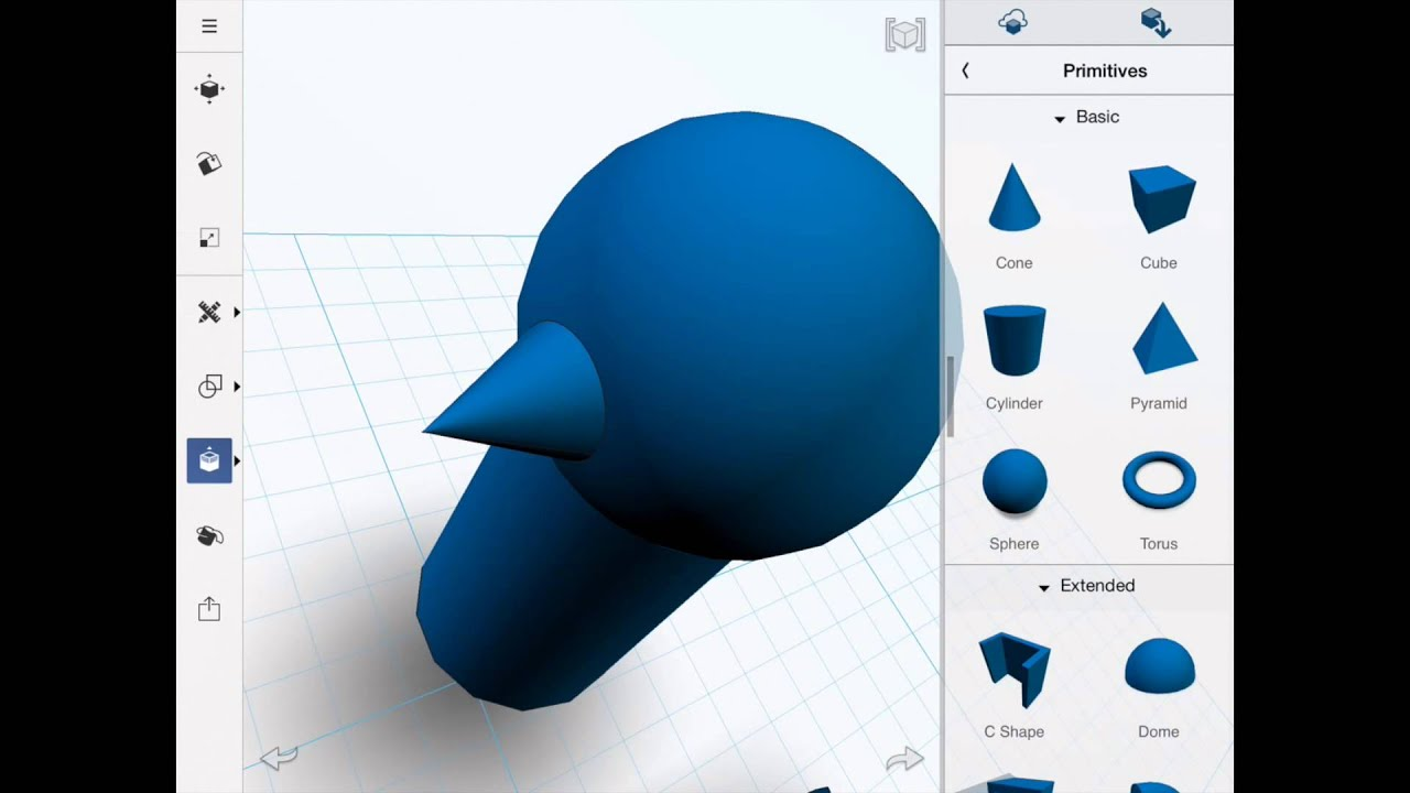 123d design basics for the ipad doovi 123d cad