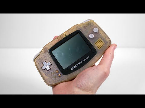 I Restored This $5 Ebay Junk Gameboy Advance. It Used to be Blue  Retro Console Repair
