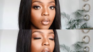 in depth, affordable, soft glam tutorial