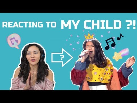 [REACT] - REACTING TO MY CHILD - Rewrite the stars | Anneth Delliecia Nasution