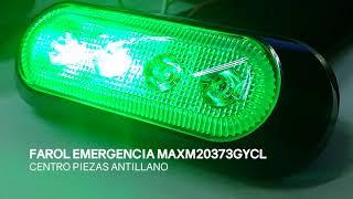 FAROL DE EMERGENCIA LED MAXM20373GYCL