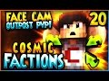 """""""FACE CAM HERO OUTPOST PVP!"""" - Minecraft COSMICPVP FACTIONS Let's Play Ep 20 (Pleb Planet)"""