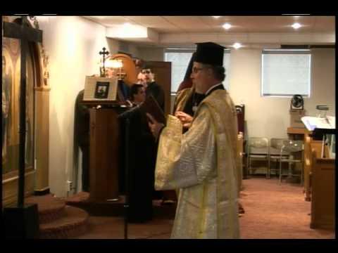 Saturday May 5th 2012  Greek Orthodox Liturgy Assumption Chicago