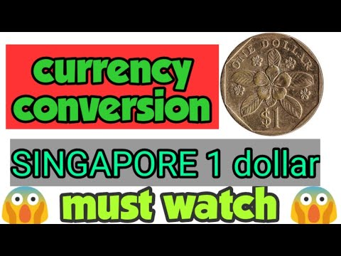 SINGAPORE $1 COIN 😱 1989 | SINGAPORE ONE DOLLAR | SINGAPORE DOLLAR | YouTube Marketing