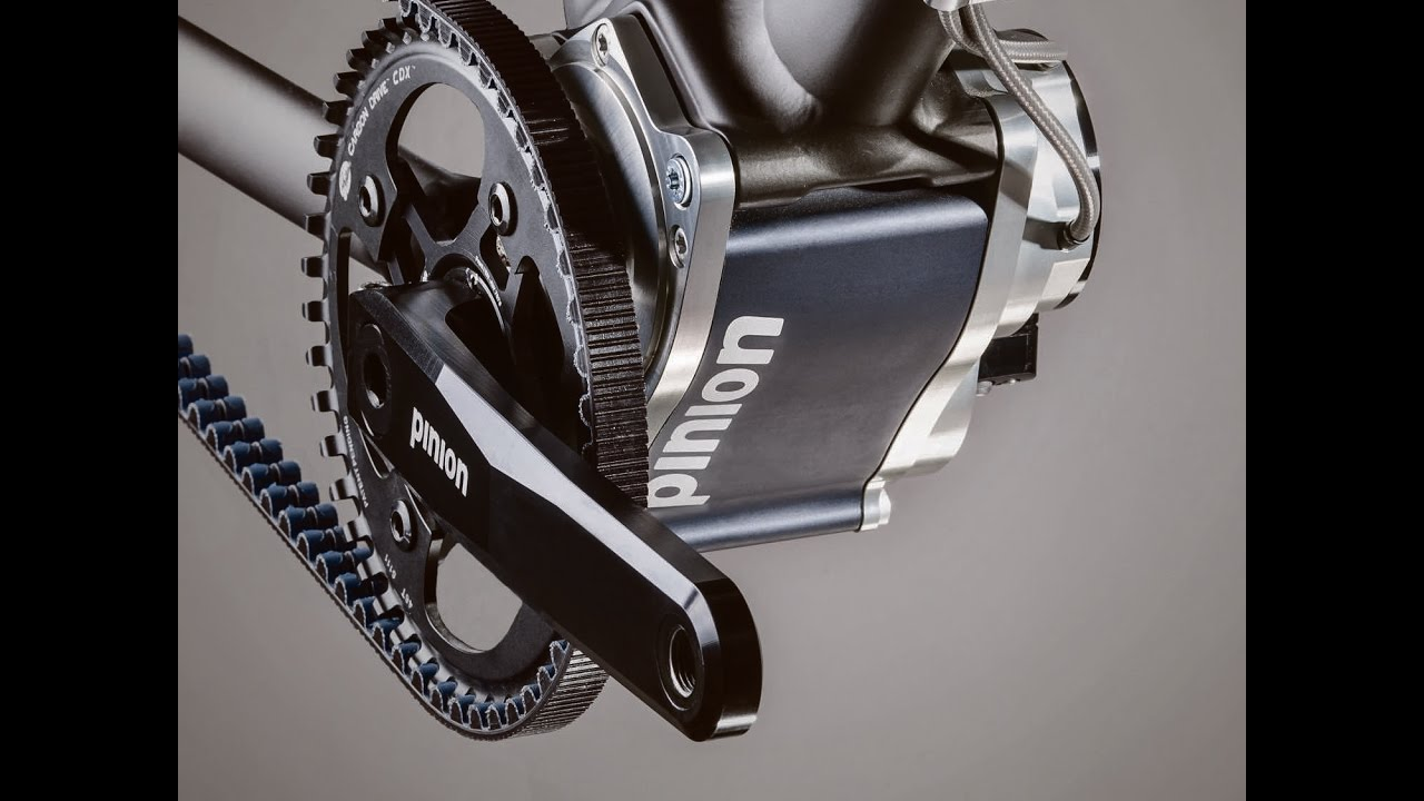 Pinion P1 18 bicycle gearbox How it works