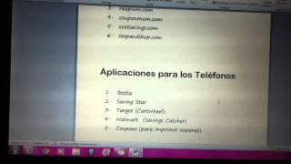 Como y Donde Imprimir Cupones y Aplicaciones para Telefonos