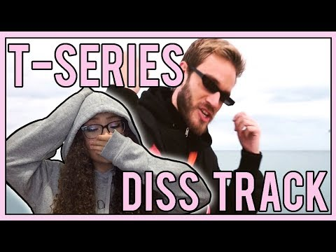 Pewdiepie - TSeries Diss Track REACTION
