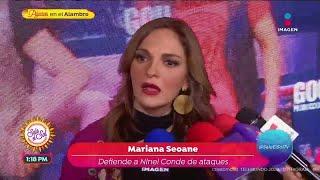 ¡Mariana Seoane defiende a Nin…
