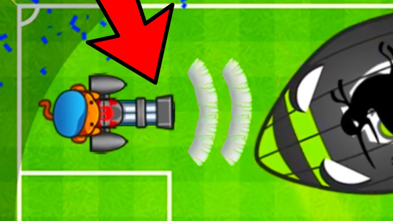 HYPERSONIC Dartling Gunner With AIMBOT HACK?! (Bloons TD Battles)