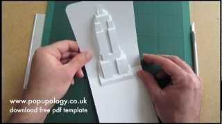 Pop Up Empire State Building Card Tutorial - Origamic Architecture