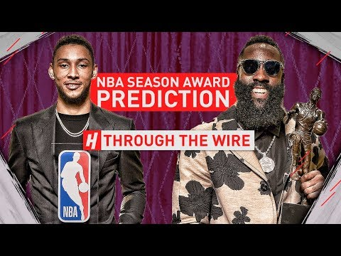 NBA Season Award Predictions  Through The Wire Podcast