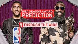 NBA Season Award Predictions | Through The Wire Podcast