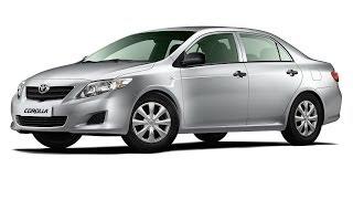 Замена лобового стекла на Toyota Corolla в Казани.
