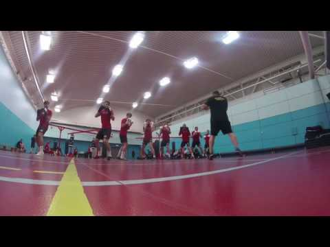 Boxing Training with Sheffield United FC
