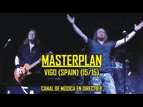 🎸🔥 Masterplan (Roland Grapow) 15/15 Crawling From H. & Deep Cover & Solos - Sala Master 2016 (Vigo)