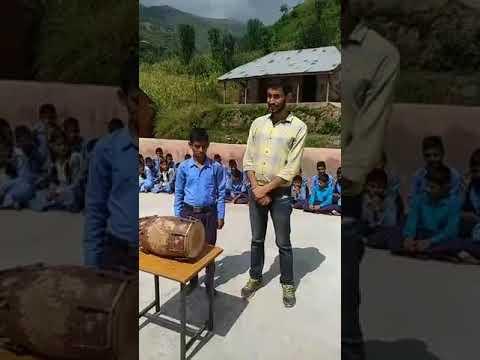 A School Boy From Ramnagar Jammu Sing a dogri song