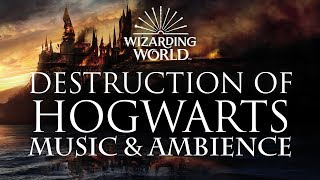 Harry Potter Music & Ambience | Aftermath of the Battle of Hogwarts