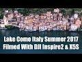Lake Como In 5K Summer 2017 Filmed With DJI Inspire 2 mp3