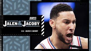 Jalen Rose explains the Ben Simmons-76ers situation   Jalen & Jacoby