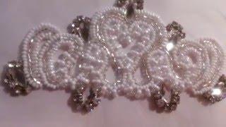 Свадебная люневильская вышивка от дизайнера Виктории Бойко