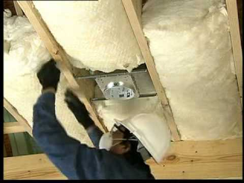Installing Unfaced Batt Insulation In