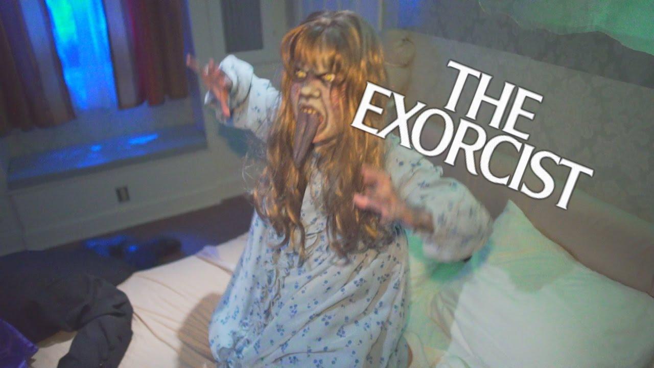 the exorcist maze at halloween horror nights 2016 universal studios