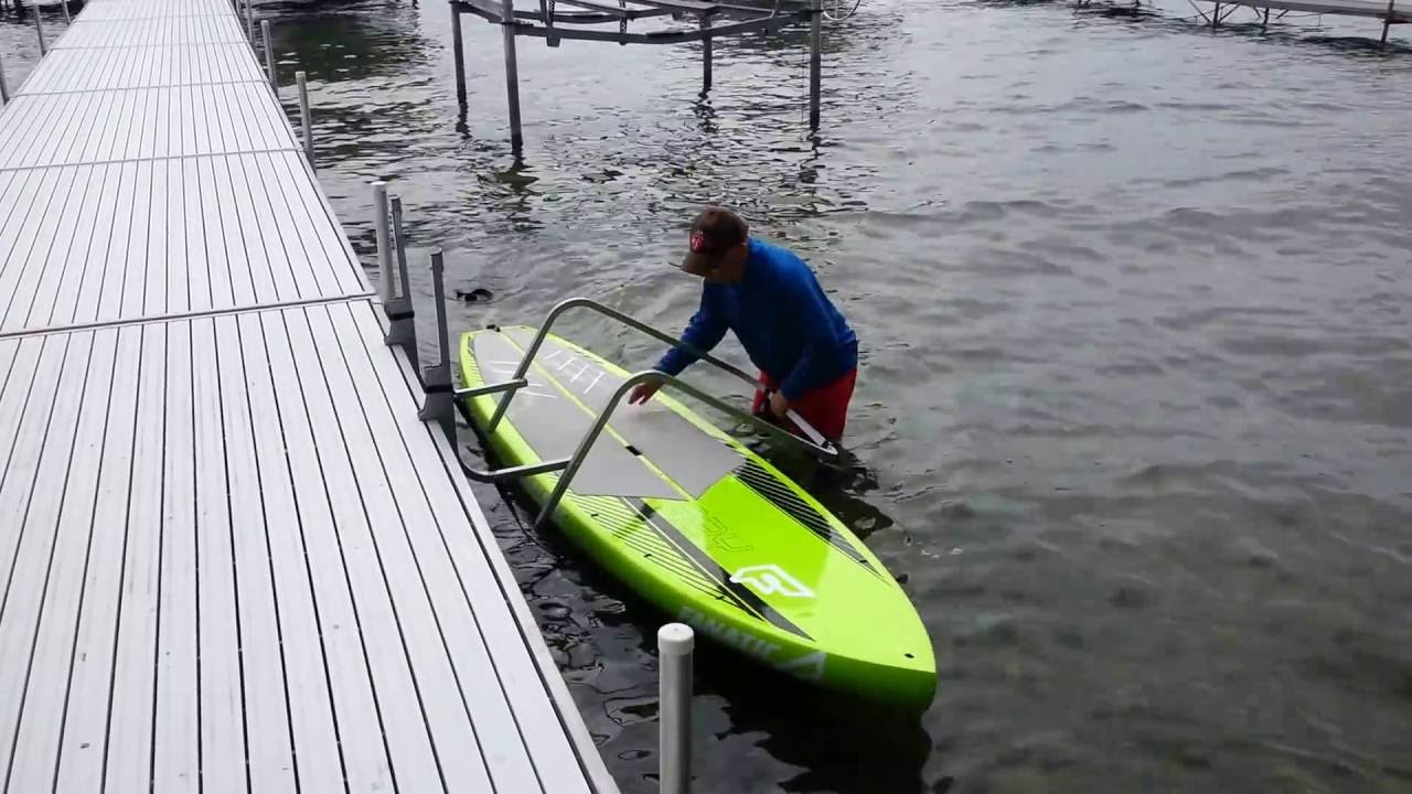 Paddle Board Waterside Storage Rack Youtube