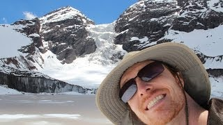 Hike on Glacier/Hike the Andes Mountains - Urban Nature Man in Chile Part 3