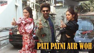 Pati Patni Aur Woh Promotion - Kartik Aaryan, Ananya Pandey and Bhumi Pednekar